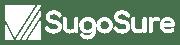 Sugosure logo no tagline white
