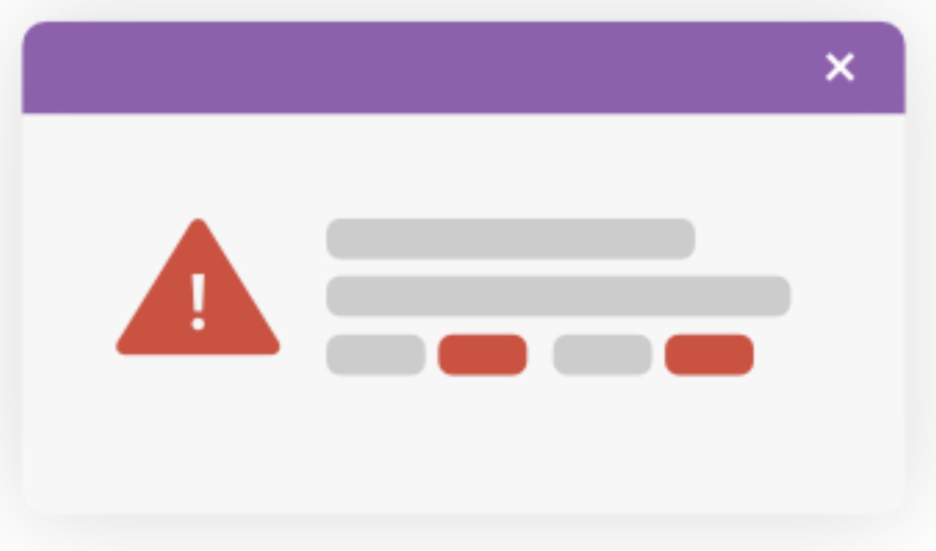 Alerts mini-icon